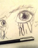 If tears left scars.. by sonic5440
