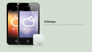 iClimate - Web Application by farizpie