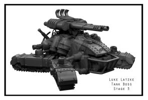 Tank Model:  Stage 3 by snaplat
