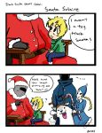 Santa Solaire Comic by UsagiLovex