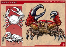 Giant Crab by PeterSiedlArt