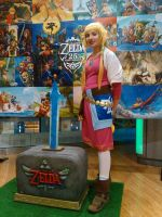 Legend of Zelda Skyward Sword Cosplay by dollphinwing