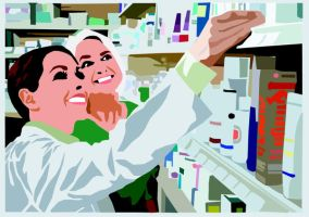 chemist image vector by The-Mattness