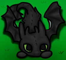 Toothless - trying out my new tablet by pokefan444