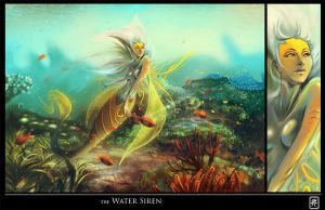 The Water Siren by CGMaxtor