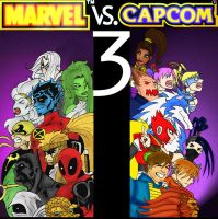 MARVEL vs CAPCOM 3 by theDOC30427
