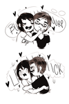 Love is gross by MaryLittleRose