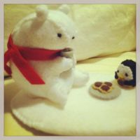 Winter Snack with Chocolate cookies and Hot Coco by PinkChocolate14