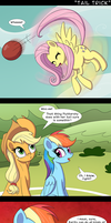 Tail Trick by DeusExEquus