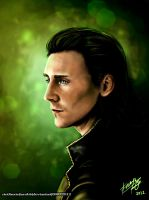 Loki - 'The God of Mischief' by riotfaerie