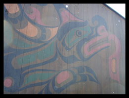 Two-Headed Serpent Mural by genocyber