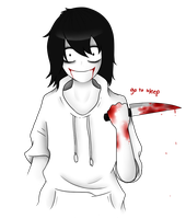 jeff the killer by fluffy-gentlekitty