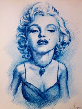 Marilyn Monroe by ZlatkaS