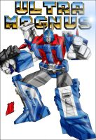 Ultra Magnus by channandeller