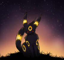 Umbreon by TheFlyingDead