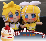 .:Happy 6th Anniversary Rin+Len:. by youkou-chan