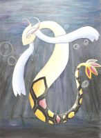 Wendy the Shiny Milotic by darknight0x0