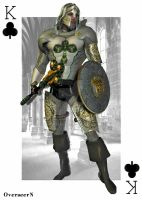King of Clubs by overseern