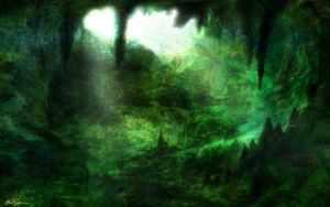 Emerald Cave by d3fect