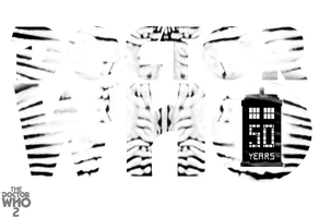 My Doctor Who 50th Anniversary Logo by theDoctorWHO2