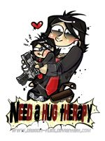 T-shirt -  Need hug therapy by dragon-flies