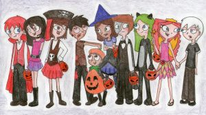 PnF_nG: Halloween by phinbella6116