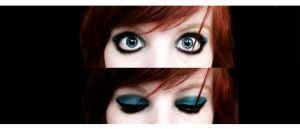 my eyes today by Melikie