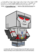 Cubeecraft - Megatron 'G1' by CyberDrone
