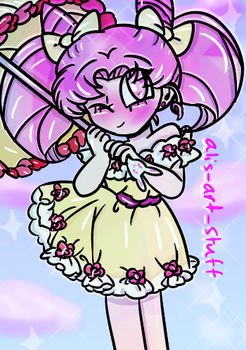 Chibiusa by alicupcake12356