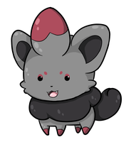 Bubbly Zorua by Digillama