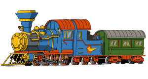 Wreck Train --for The Paper NES Guy by Atticus-W