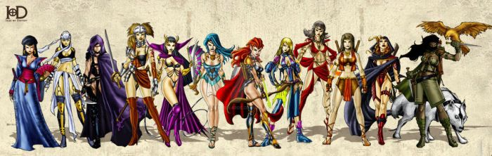 Ladies of the Isles of Destiny by Wyldekarde