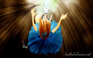 Falling into the rabbit hole by Zoehi