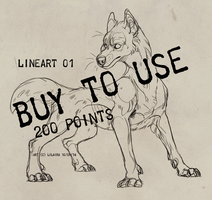 Lineart 01 FOR SALE 200 points by LiLaiRa
