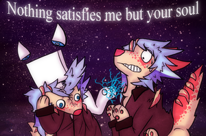 :VC: Nothing Satisfies Me But Your Soul by GlassFeline