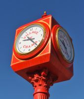 Town clock by lawout16