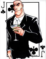 Lex Luthor Jack of Clubs by PatrickFinch