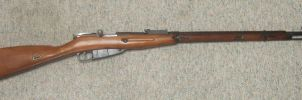 Mosin-Nagant M91/30 Right Side by stopsigndrawer81