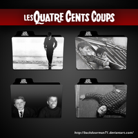 Les Quatre Cents Coups Movie Folder Icon Pack by backdoorman71