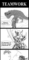 Monster Hunter: TeamWork by SilentGPanda