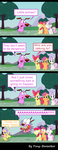Courage The Cowardly Dog Meets Ponies by Pony-Berserker