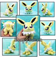 Jolteon Chibi Micro Plush Beanie by TheHarley