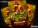 Jungle Party Flyer by Industrykidz
