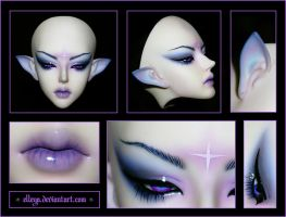 Make-Up. soom Heliot  God Master. by Elleya