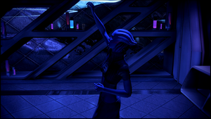 Mass Effect 3 Dancing Asari Dreamscene by droot1986