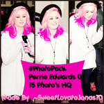 #PhotoPack :Perrie Edwards 01 by SweetLovatoJonas1D