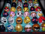 ANGRY BIRDS-STAR WARS EASTER EGGS by Rene-L