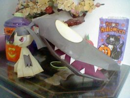 Mawile Papercraft by PrincessStacie