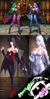 Lili - Morrigan and Lilith v2 - MOD - SFxTK by somebody2978