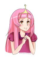 Princess Bubblegum by zunkezunke